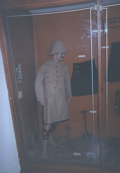 Uniform of Highlander at Magersfontein